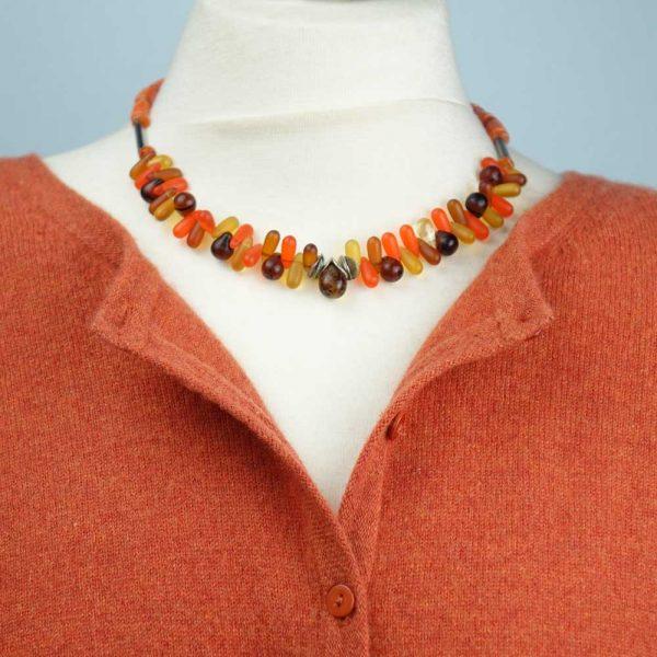 Halskette Orangentraum von esperlt