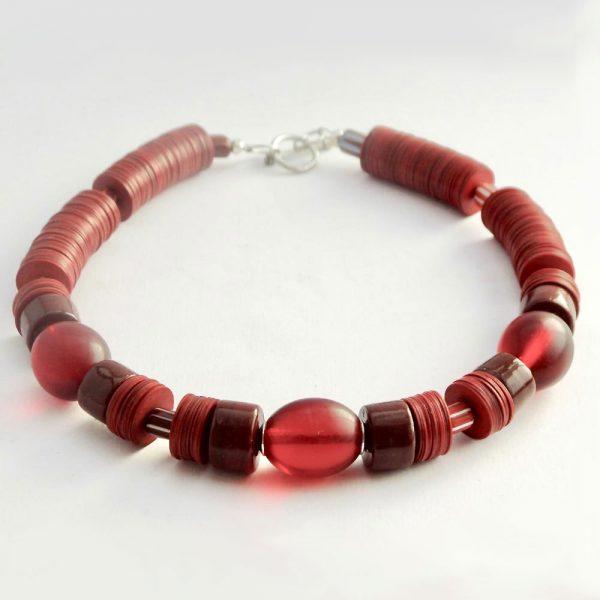 Halskette Vollmundiger Rotwein von esperlt