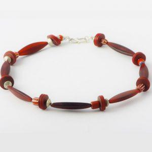 Rotes Horn - Halskette von esperlt