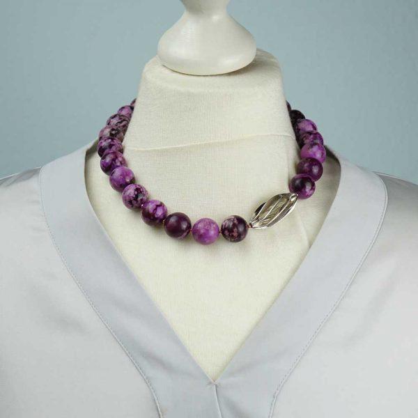Halskette Lavendel von esperlt