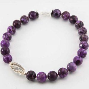 Lavendel - Halskette von esperlt