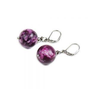 Ohrringe Lavendel von esperlt