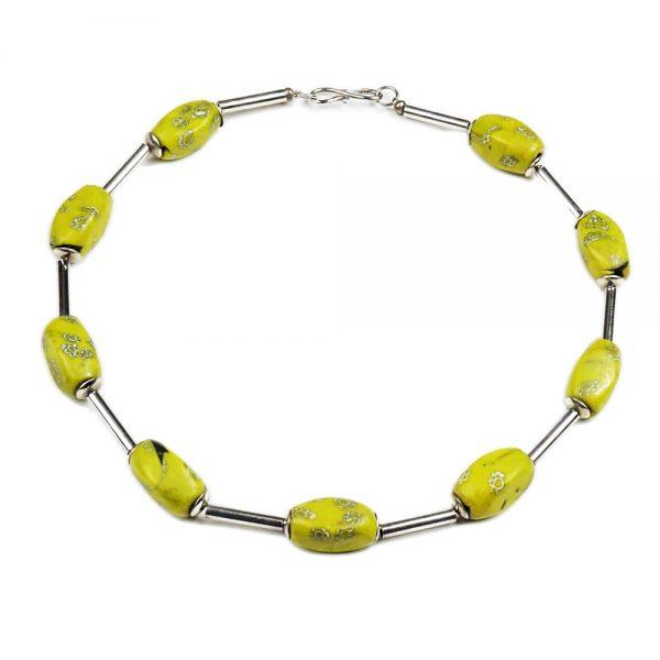 Halskette Millefiori von esperlt