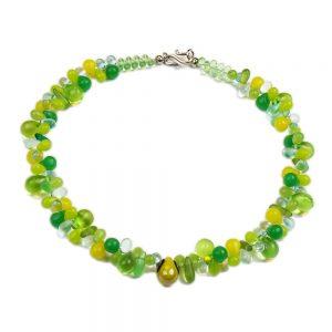 Halskette Grüne Trauben von esperlt
