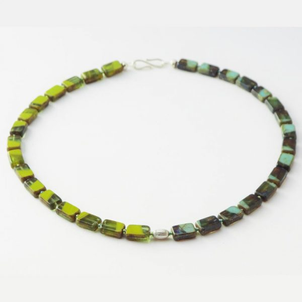 Grüne Vielfalt - Halskette von esperlt