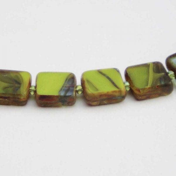 Halskette Limetten - esperlt - Detail