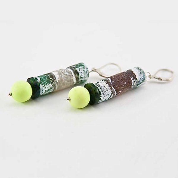 Grüner Achat - Ohrringe von esperlt