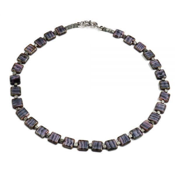 Halskette Quadratur von esperlt