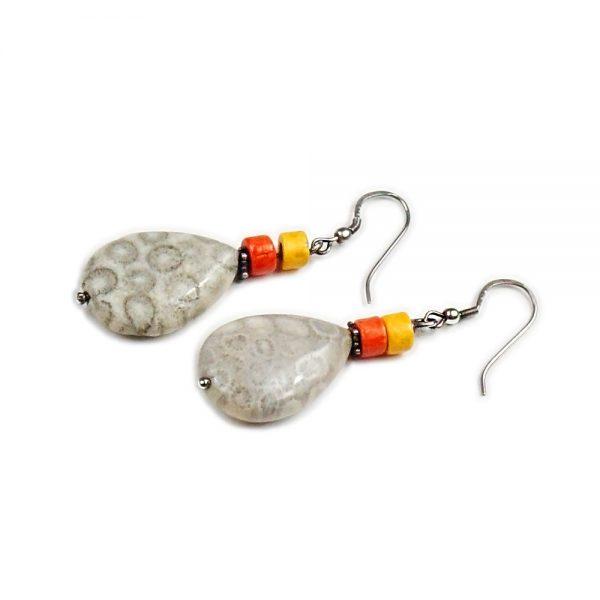 Ohrringe Koralle von esperlt