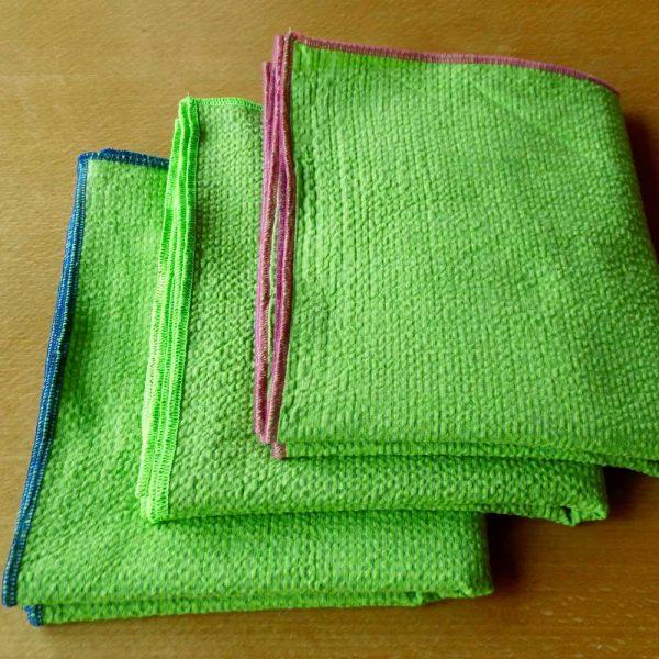 Schal Seersucker Grün - esperlt - Varianten
