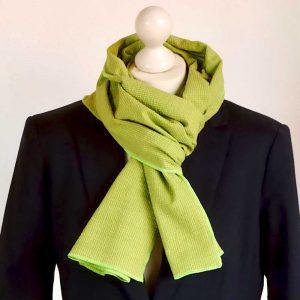 Seersucker Grün G - Schal von esperlt