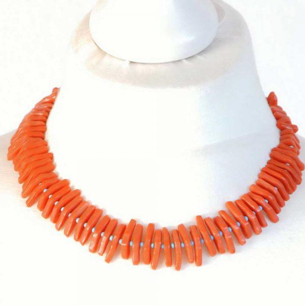 Halskette Koralle von esperlt - Körperbild