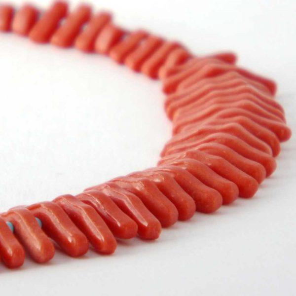 Halskette Koralle von esperlt - Detail