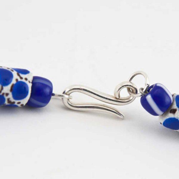 Halskette Blaue Lagune von esperlt - Verschluss
