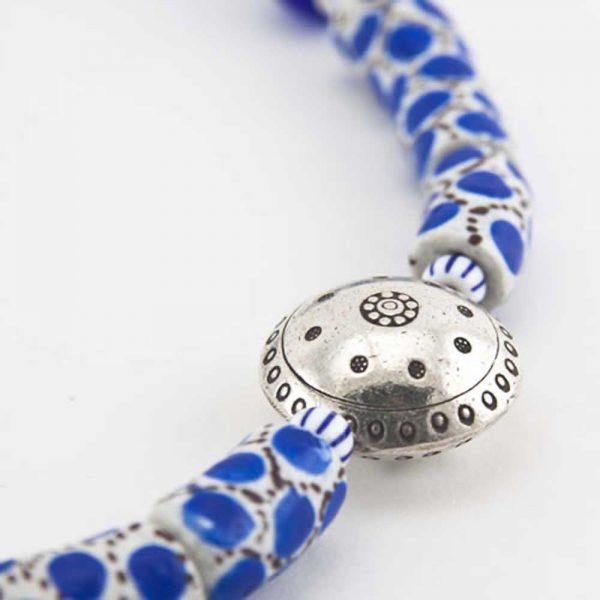 Halskette Blaue Lagune von esperlt - Detail