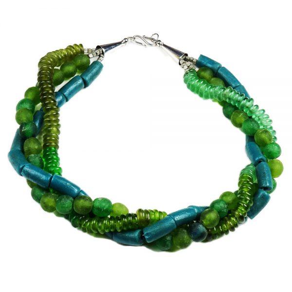 Halskette Grün und Grün von esperlt