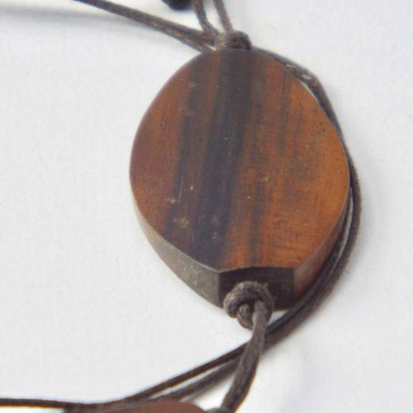 Halskette Blätterwald von esperlt - Detail