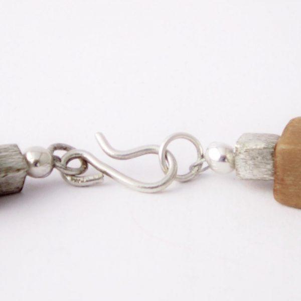 Halskette Würfelspiel von esperlt - Verschluss
