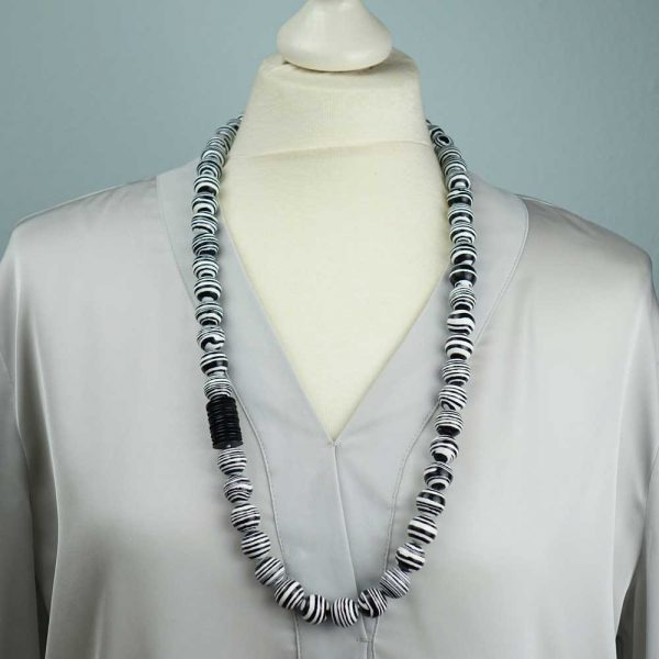 Halskette Zebra Jaspis von esperlt