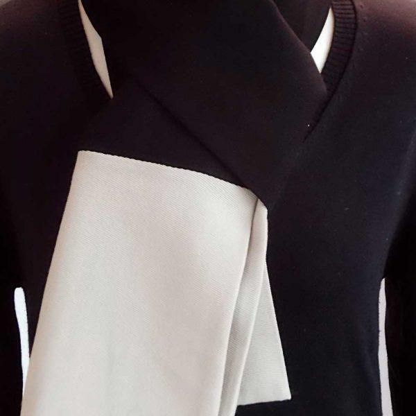 Schal Kontrast von esperlt - Detail