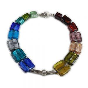 Halskette Farbenfrohe Vielfalt von esperlt
