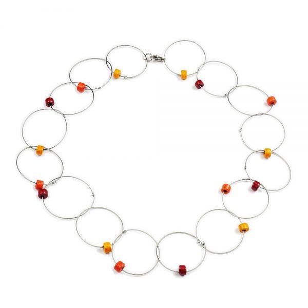 Halskette Ringelreihen von esperlt