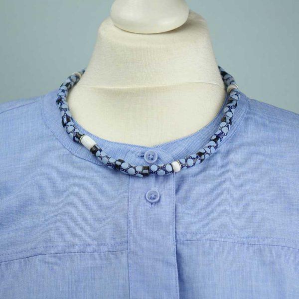 Halskette Ghana's Sprenkel von esperlt