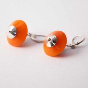 Ohrringe Ufos Orange von esperlt