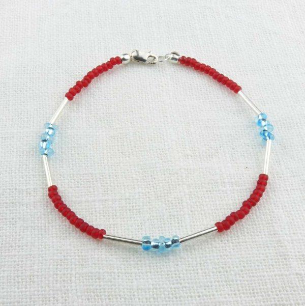 Armband Rot-Türkis von esperlt