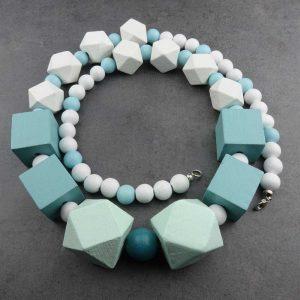 Halskette Pastellfarben von esperlt