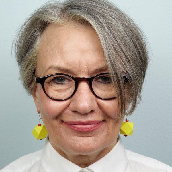 Ohrringe Gelbe Polygone von esperlt