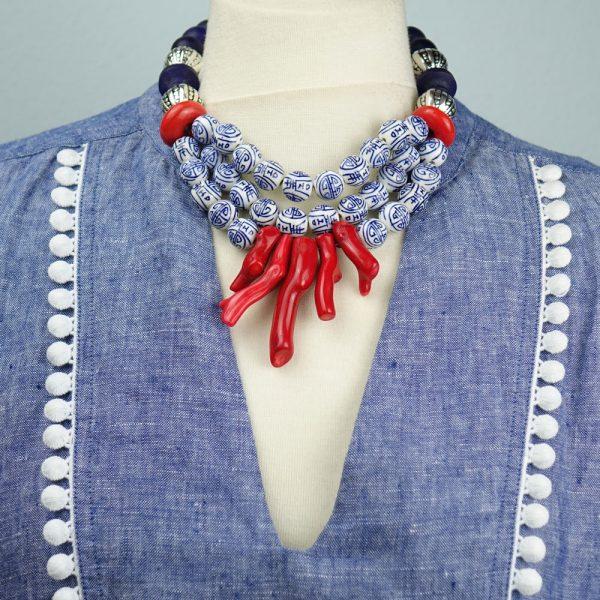 Halskette Fernöstliche Schönheit von esperlt